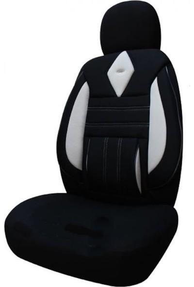 KGS Volkswagen Caddy Yeni Kasa Oto Koltuk Kılıfı Plus Gri - Siyah