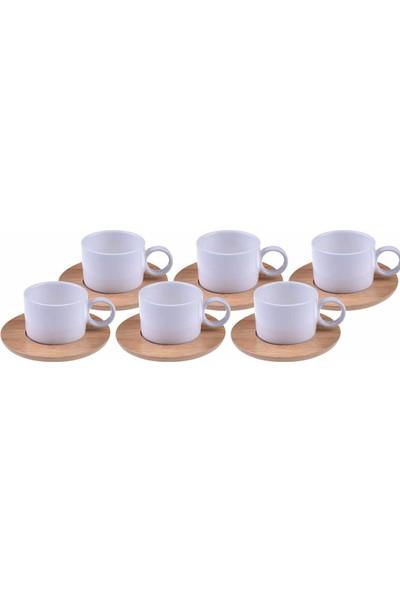 Bambum Cristo - 6 Kişilik Kahve Fincan Takımı
