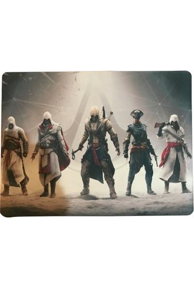 Gamerloot Baskılı Mousepad 25 x 32 cm - Assasın's Creed 4lü