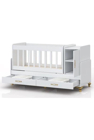 Minimobi Avangard Büyüyen Bebek Beşiği Herşey Dahil Set