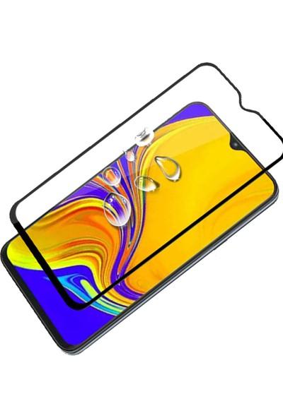 Coverzone Xiaomi Redmi K30 Fiber Nano Ekran Koruyucu Siyah
