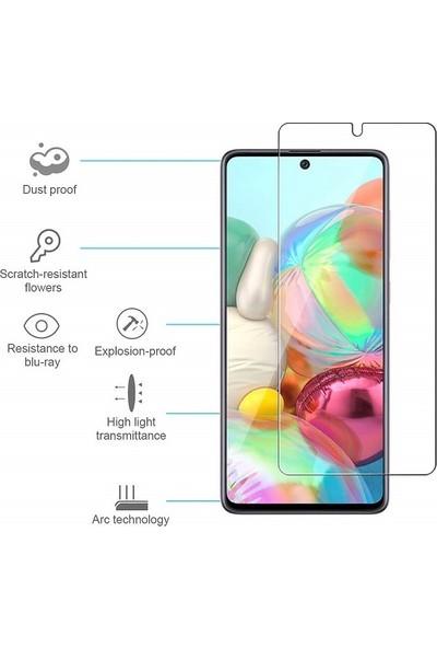Samsung Galaxy A51 Nano Ekran Koruyucu Esnek 9H Temperli Ekran Koruyucu
