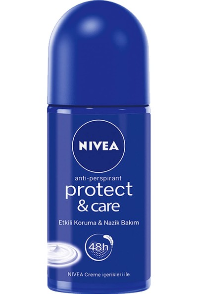 Nıvea Deo Roll-On 50 ml Prot&Care Kadın