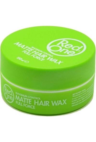 Redone Wax Mat Yeşil 150 ml