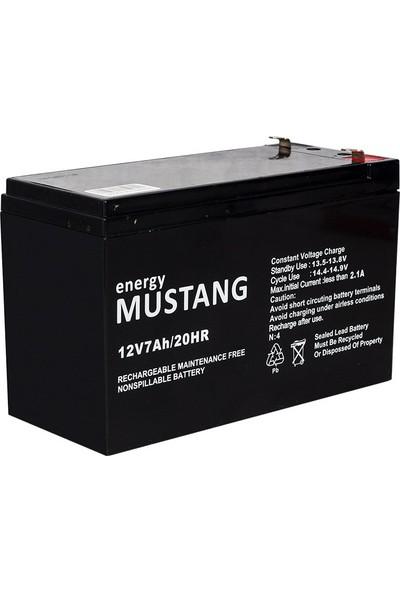 Mustang 12V 7AH Akü