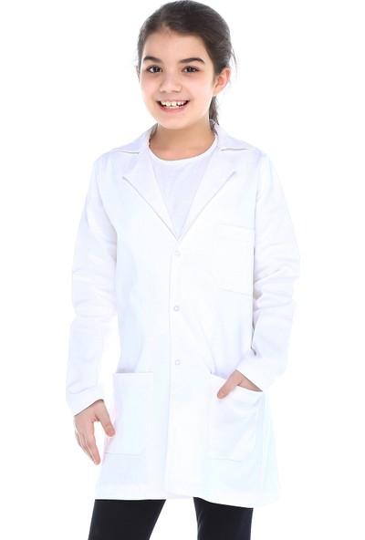 Tülü Akkoç Kız Çocuk Doktor Önlüğü