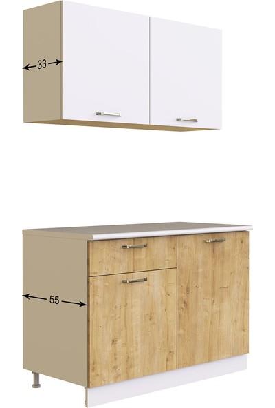 T Designo Elmas Mutfak 120 cm