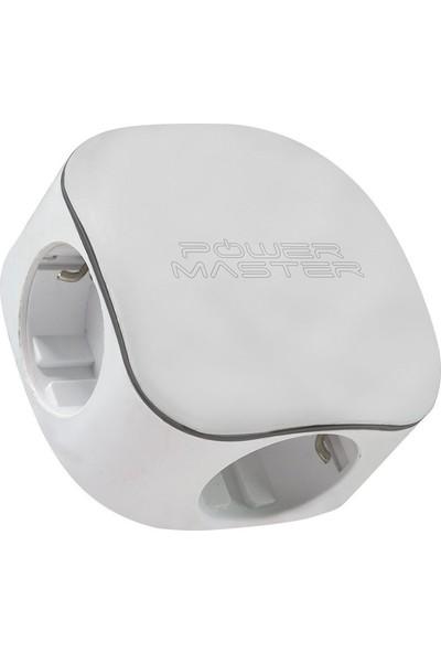 Power Master Çocuk Kilitli USB Akım Korumalı 3'lü Priz