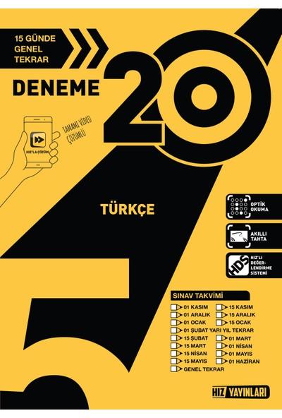 Türkçe Deneme - 2019 5. Sınıf 20 li