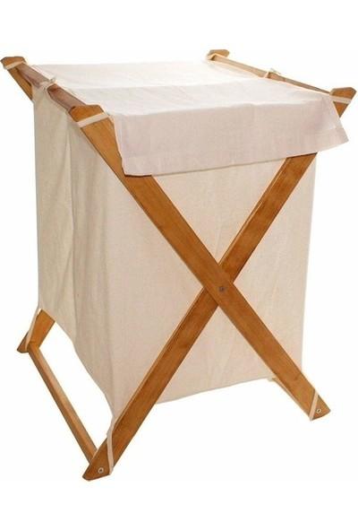 KutuKutu Katlanır Çamaşır Sepeti 2'li