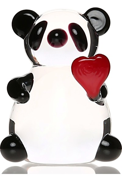 1200 Derece Kalpli Panda Cam Biblo