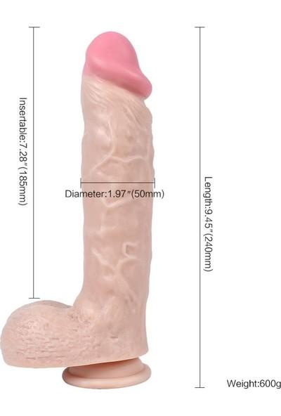 X-Men Dildo Series Spartacus 24 cm Belden Bağlamalı Penis