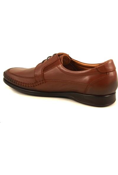 Forelli 10602 Erkek Taba Deri Comfort Ayakkabı