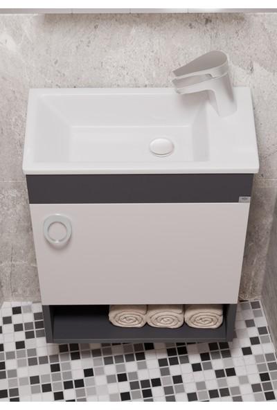 Belinza Hira Trend Banyo Dolabı 50 cm