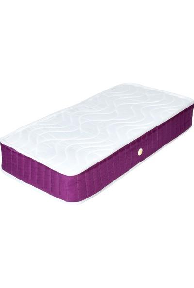 Minka Home Yaylı Bebek Yatağı 60 x 120 cm - Mor