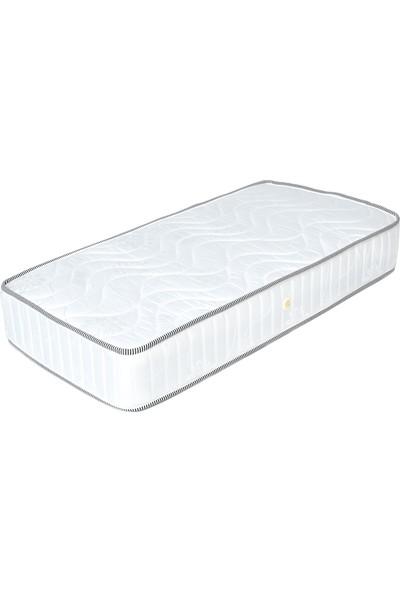 Minka Home Yaylı Bebek Yatağı 70 x 130 cm - Beyaz