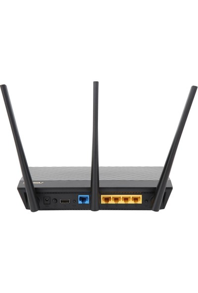 Asus RT-AC66U B1(2 PK) DualBand Gaming Ai Mesh AiProtection Torrent Bulut DLNA 4G VPN Router Access Point Repeater