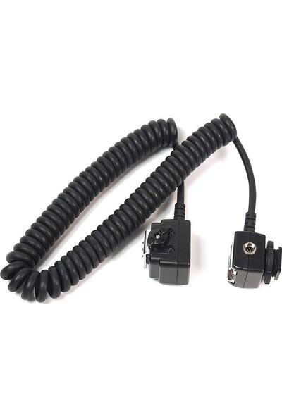 Meike Nikon İçin Sc-28 TTL Flaş Kablosu 3 m
