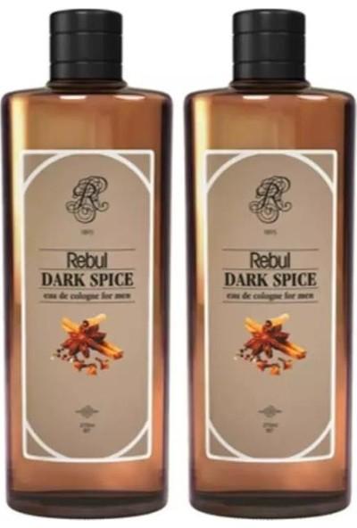 Rebul Kolonya Dark Spice 270 ml x 2 Adet