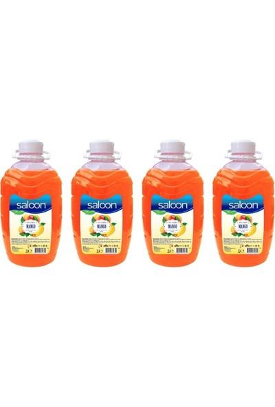Saloon Sıvı Sabun Mango 2 lt 4'lü