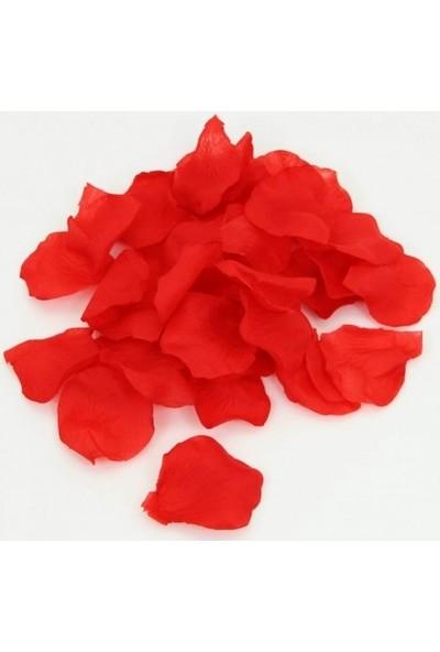 Yağmur Çiçekçilik Yapay Kırmızı Gül Yaprağı