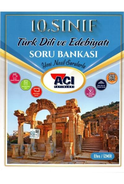 Açı Yayınları 10. Sınıf Türk Dili ve Edebiyatı Soru Bankası