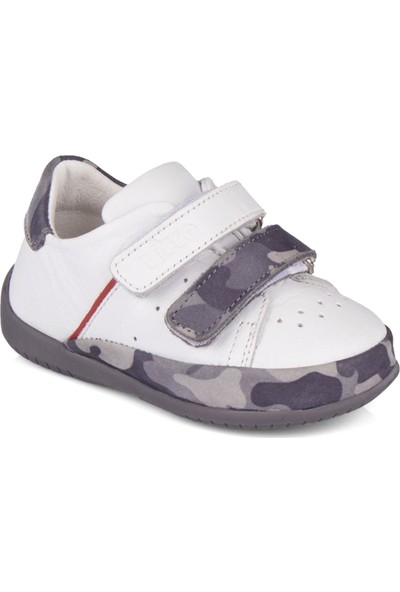 Vicco Bruno İlk Adım Deri Ayakkabı Beyaz 918.E20Y.010