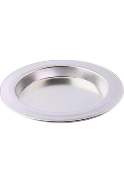Bakır Sanatı Alüminyum 6 Adet 1 Kişilik 12 cm Künefe Tabağı