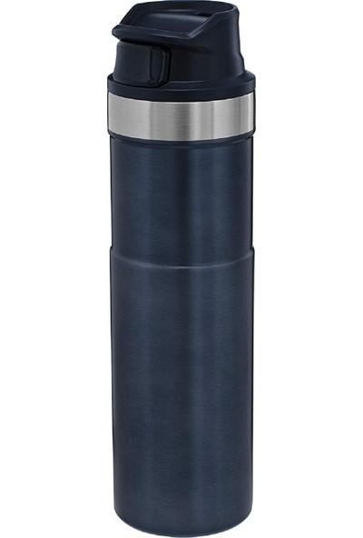 Stanley 470 ml Termos Travel Mug Trigger-Action Gece Mavisi