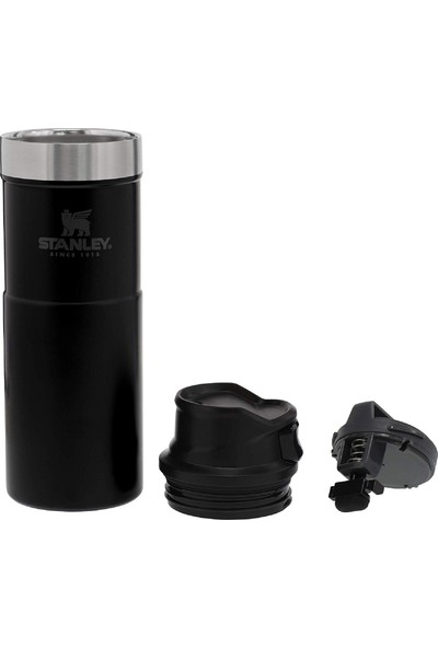 Stanley 470 ml Termos Travel Mug Trigger-Action Siyah