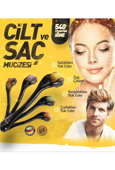 Brillant Hair Keratin Dökülme Karşıtı Saç Serumu + Derma Roller 540TITNROHSCE