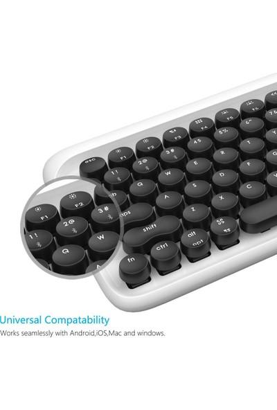 Lofree Retro Dot Wireless Mekanik Klavye