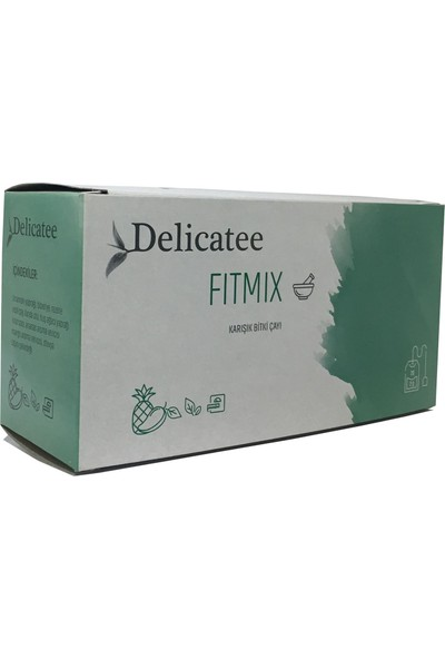 Delicatee Fitmix Bitkisel Karışım Çayı