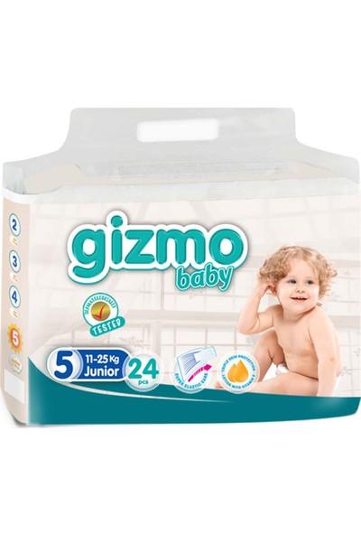 Gizmo Bebek Bezi Paketi 11 - 25 kg 5 Numara 24'lü