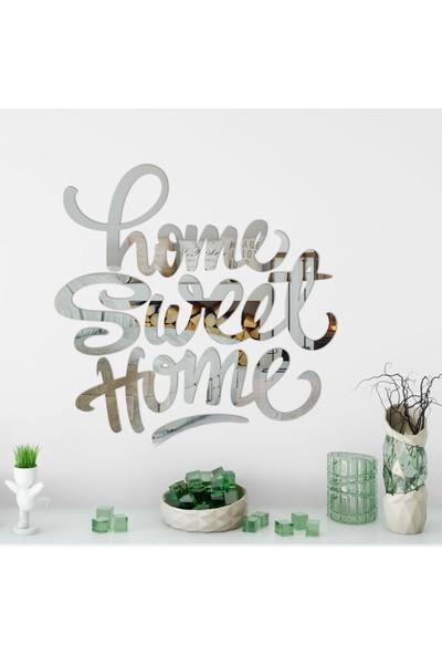 Dez Home Sweet Home Akrilik Duvar Aynası