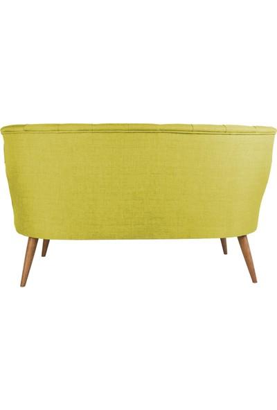 Ze10 Design Richland Loveseat Ikili Kanape Fıstık Yeşili