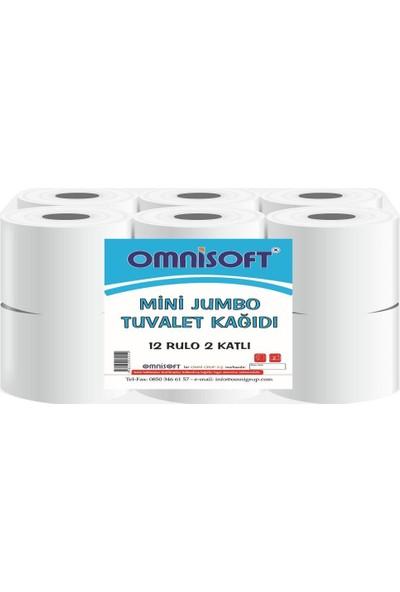Omnisoft Mini Jumbo Tuvalet Kağıdı 12 Rulo