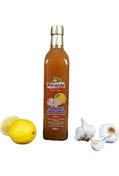 Perverde Sarımsaklı Limon Sirkesi 500 ml