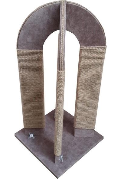 Zigana Pet Kedi Tirmalama 35 x 35 x 73 cm Kule Tırmalama Özel Ürün