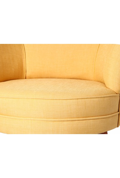 Ze10 Design Victoria Tekli Koltuk Sarı