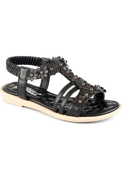 Vicco Patik Kız Sandalet Siyah 928.19Y.497