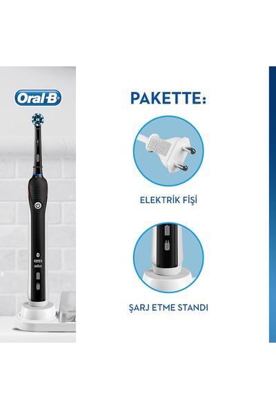 Oral-B Smart 4000 Şarj Edilebilir Diş Fırçası Cross Action Siyah