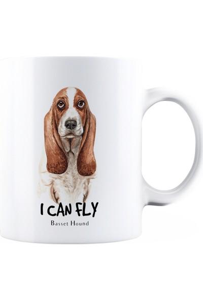 BaskimBurada Beyaz Kupa Kişiye Özel Realistic Dog Breed BBKB00027