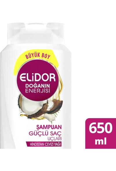 Elidor Doğanın Enerjisi Güçlü Saç Uçları Şampuan 650 ML