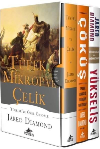 Tüfek Mikrop ve Çelik Üçlemesi 3 Kitap - Jared Diamond