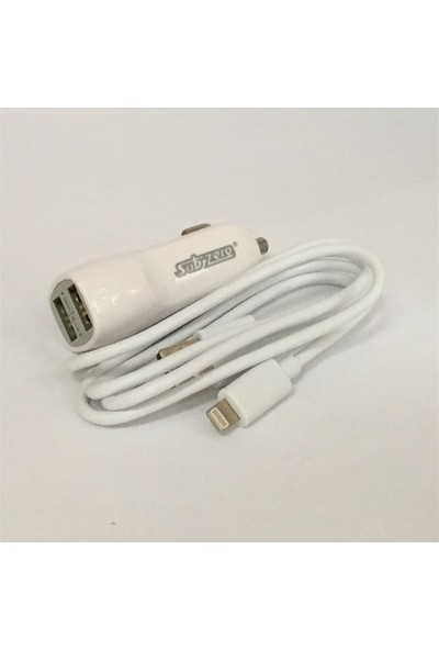 Subzero Type-C Çift Girişli Araç Hızlı Oto Çakmaklık + Kablo
