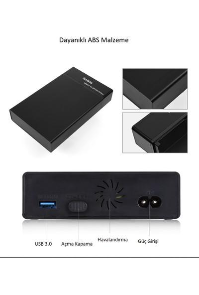 "TriLine 3.5""/2.5"" Sata HDD USB 3.0 S8 Harici Harddisk Kutusu"