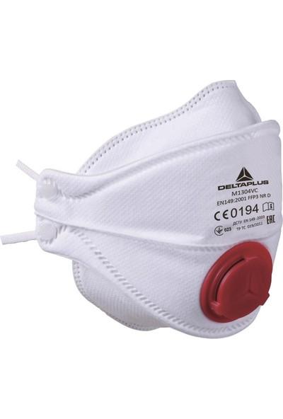 Delta Plus M1304V FFP3 Ventilli Hijyenik Maske 10'lu