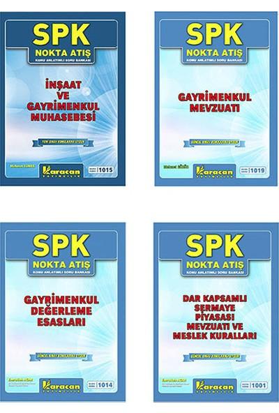 Karacan Yayınları SPK Gayrimenkul Değerleme Uzmanlığı Konu Anlatımlı Nokta Atış Soruları