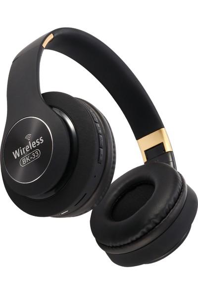 Sevfe BK33 Kablosuz Bluetooth Kulaklık - Siyah